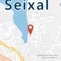 Mapa com localização da Loja CTTARRENTELA