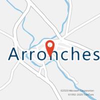 Mapa com localização da Loja CTTARRONCHES