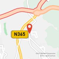 Mapa com localização da Loja CTTATALAIA