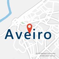 Mapa com localização da Loja CTTAVEIRO