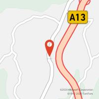 Mapa com localização da Loja CTTAZEITES DE ALVIOBEIRA