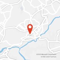 Mapa com localização da Loja CTTBAIRRO