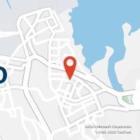 Mapa com localização da Loja CTTBAIXA DA BANHEIRA