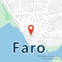 Mapa com localização da Loja CTTBAIXA FARO