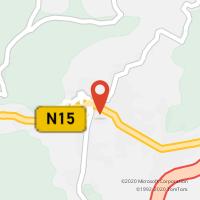 Mapa com localização da Loja CTTBALTAR