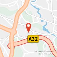 Mapa com localização da Loja CTTBALTEIRO (V.NOVA DE GAIA)