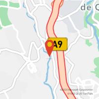 Mapa com localização da Loja CTTBARCARENA