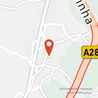 Mapa com localização da Loja CTTBARROS (PÓVOA DE VARZIM)