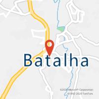 Mapa com localização da Loja CTTBATALHA