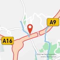 Mapa com localização da Loja CTTBELAS