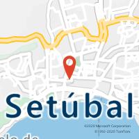 Mapa com localização da Loja CTTBONFIM (SETÚBAL)