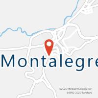 Mapa com localização da Loja CTTBOTICA (MONTALEGRE) (Fechada)