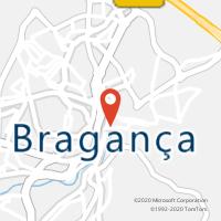 Mapa com localização da Loja CTTBRAGANÇA
