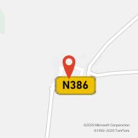 Mapa com localização da Loja CTTBRINCHES