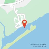 Mapa com localização da Loja CTTCABANAS