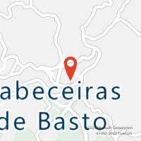 Mapa com localização da Loja CTTCABECEIRAS DE BASTO