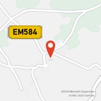 Mapa com localização da Loja CTTCADIMA