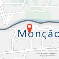 Mapa com localização da Loja CTTCALCULO XXI (MONÇÃO)