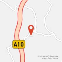 Mapa com localização da Loja CTTCALHANDRIZ