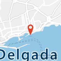 Mapa com localização da Loja CTTCALHETA (PONTA DELGADA) (Fechada)