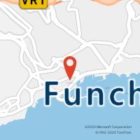 Mapa com localização da Loja CTTCALOUSTE GULBENKIAN (FUNCHAL)