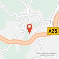 Mapa com localização da Loja CTTCAMBRA