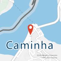 Mapa com localização da Loja CTTCAMINHA