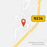 Mapa com localização da Loja CTTCANAS DE SENHORIM
