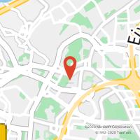 Mapa com localização da Loja CTTCARNIDE