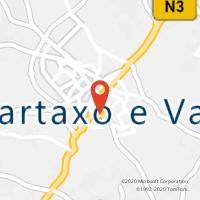 Mapa com localização da Loja CTTCARTAXO