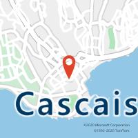 Mapa com localização da Loja CTTCASCAIS
