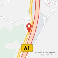 Mapa com localização da Loja CTTCASTANHEIRA DO RIBATEJO