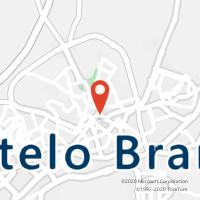 Mapa com localização da Loja CTTCASTELO BRANCO