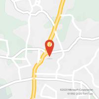 Mapa com localização da Loja CTTCASTELO DA MAIA