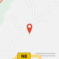 Mapa com localização da Loja CTTCELA (ALCOBAÇA)