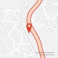 Mapa com localização da Loja CTTCEPSA A28 - VIANA DO CASTELO  - VNC/POR