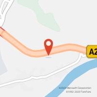 Mapa com localização da Loja CTTCEPSA - A.S. ABRANTES N/S (A23)