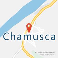 Mapa com localização da Loja CTTCHAMUSCA