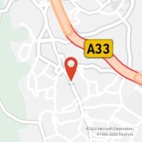 Mapa com localização da Loja CTTCHARNECA DA CAPARICA