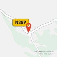 Mapa com localização da Loja CTTCOLOS (ODEMIRA)