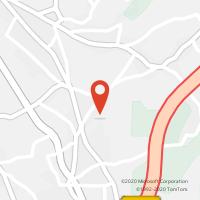 Mapa com localização da Loja CTTCOSTA DO VALADO (OLIVEIRINHA)