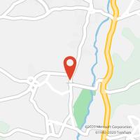 Mapa com localização da Loja CTTCURIA