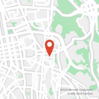 Mapa com localização da Loja CTTD AFONSO HENRIQUES (LISBOA)
