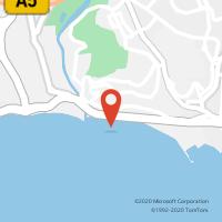 Mapa com localização da Loja CTTDAFUNDO