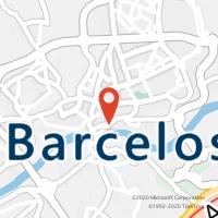 Mapa com localização da Loja CTTD.ANTONIO BARROSO(BARCELOS)