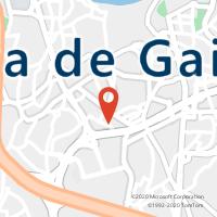 Mapa com localização da Loja CTTDEVESAS (VILA NOVA DE GAIA)