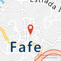 Mapa com localização da Loja CTTFAFE