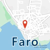Mapa com localização da Loja CTTFARO