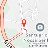 Mapa com localização da Loja CTTFÁTIMA