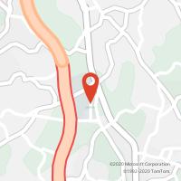 Mapa com localização da Loja CTTFEITEIRA (CARVALHOS)